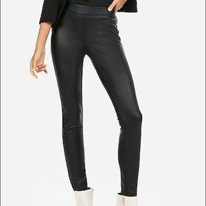 Like New Express Vegan Leather Leggings Size M